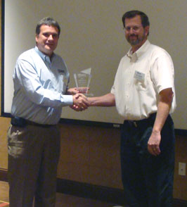 Yung Koprowski presented with 2011 ASHE National Young Member of the Year Award