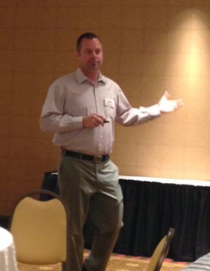 April 9, 2013:  Jeff Hamilton, Hunter Contracting, Speaker