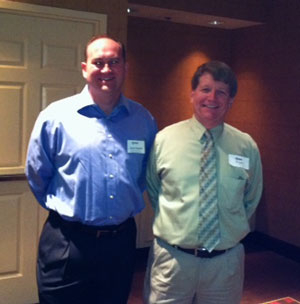 Feb. 14, 2012: Jason Pagnard, 1st VP, Bob Hazlett, MAG (Speaker)